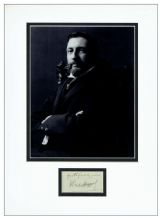Henry Rider Haggard Autograph Signed Display